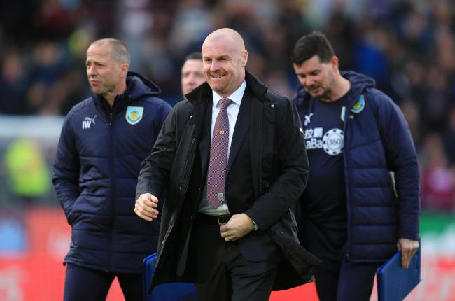Sean Dyche celebrates six years in charge at Turf Moor today