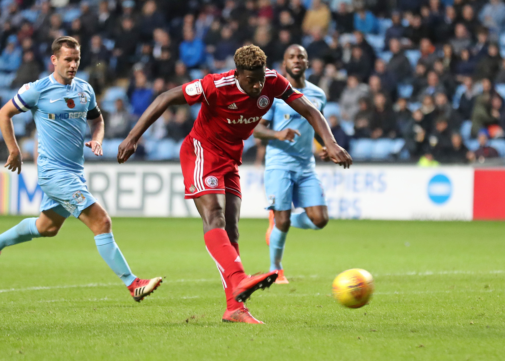 FULL TIME: Coventry City 1 Accrington Stanley 1