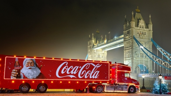 Coca-Cola truck is visiting the Trafford Centre this Christmas - Lancashire Telegraph
