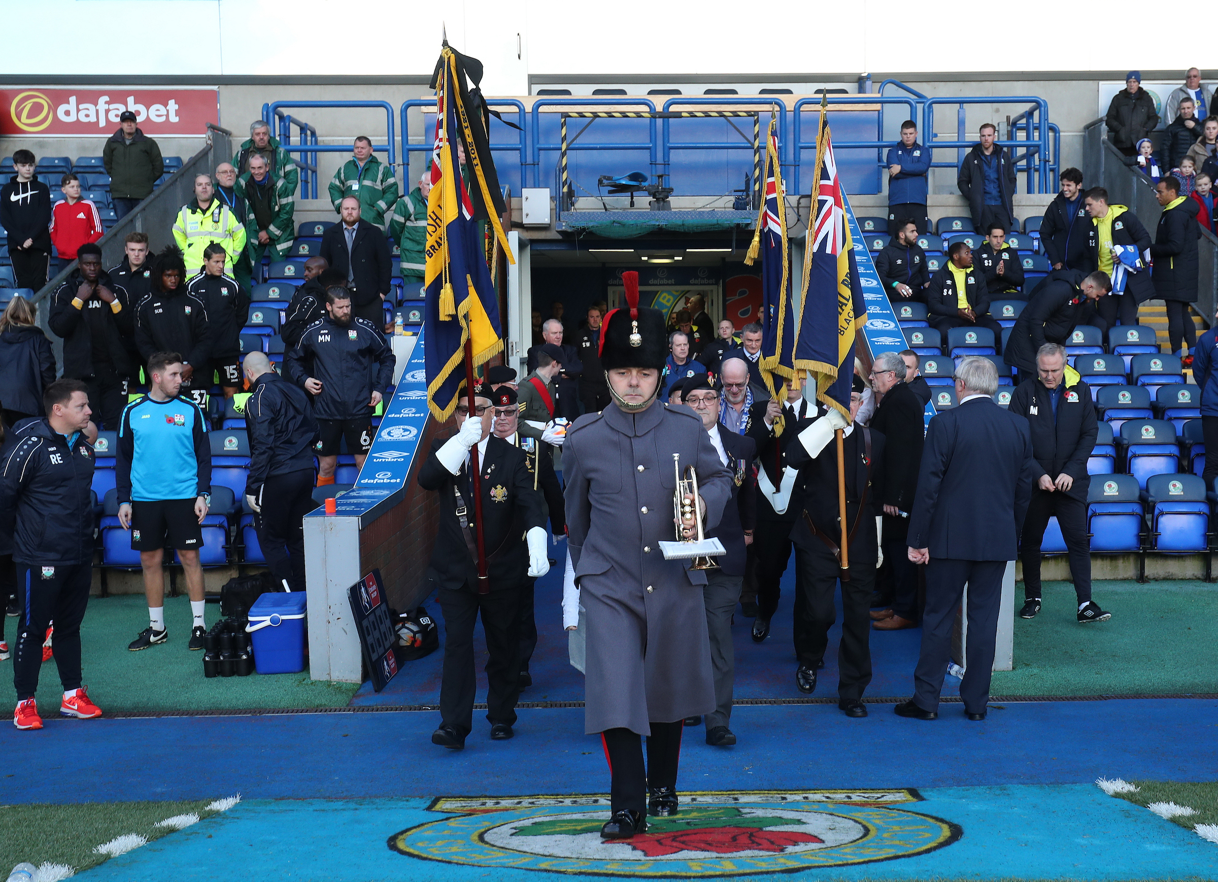 The Royal British Legion will be guests at Rovers' home match with Rotherham