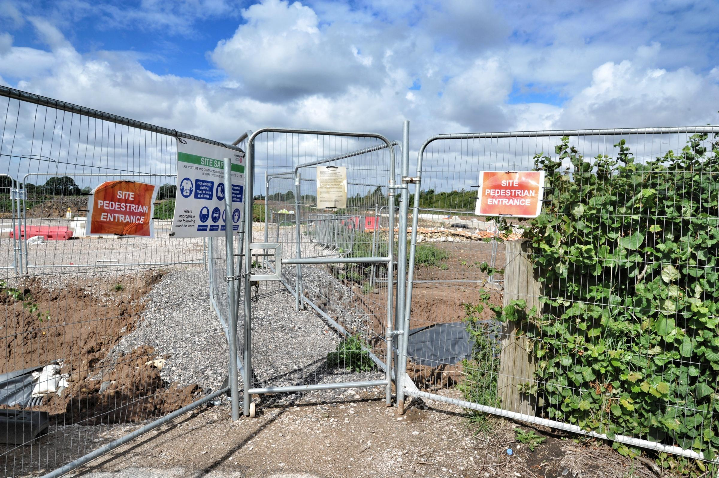 The Ikea site works, Cuerden site, Bamber Bridge