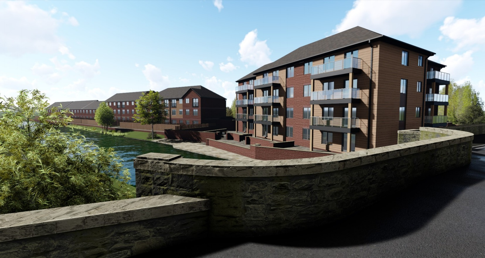 How the flats at Barden Mill could look