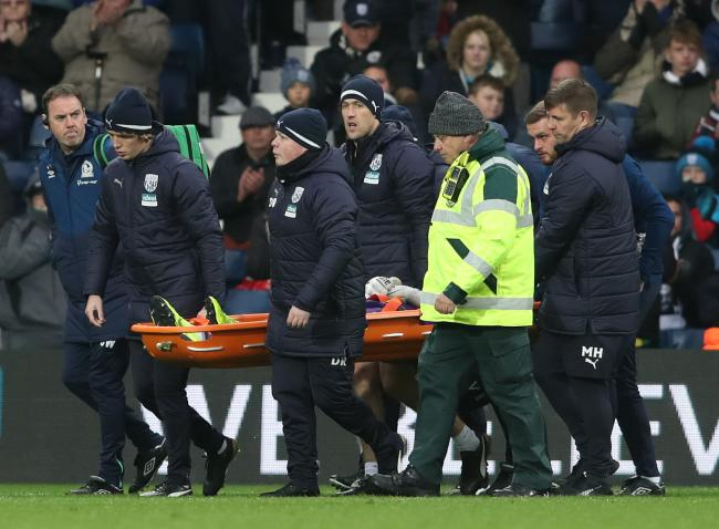 David Raya was stretchered off in Rovers' draw at West Brom