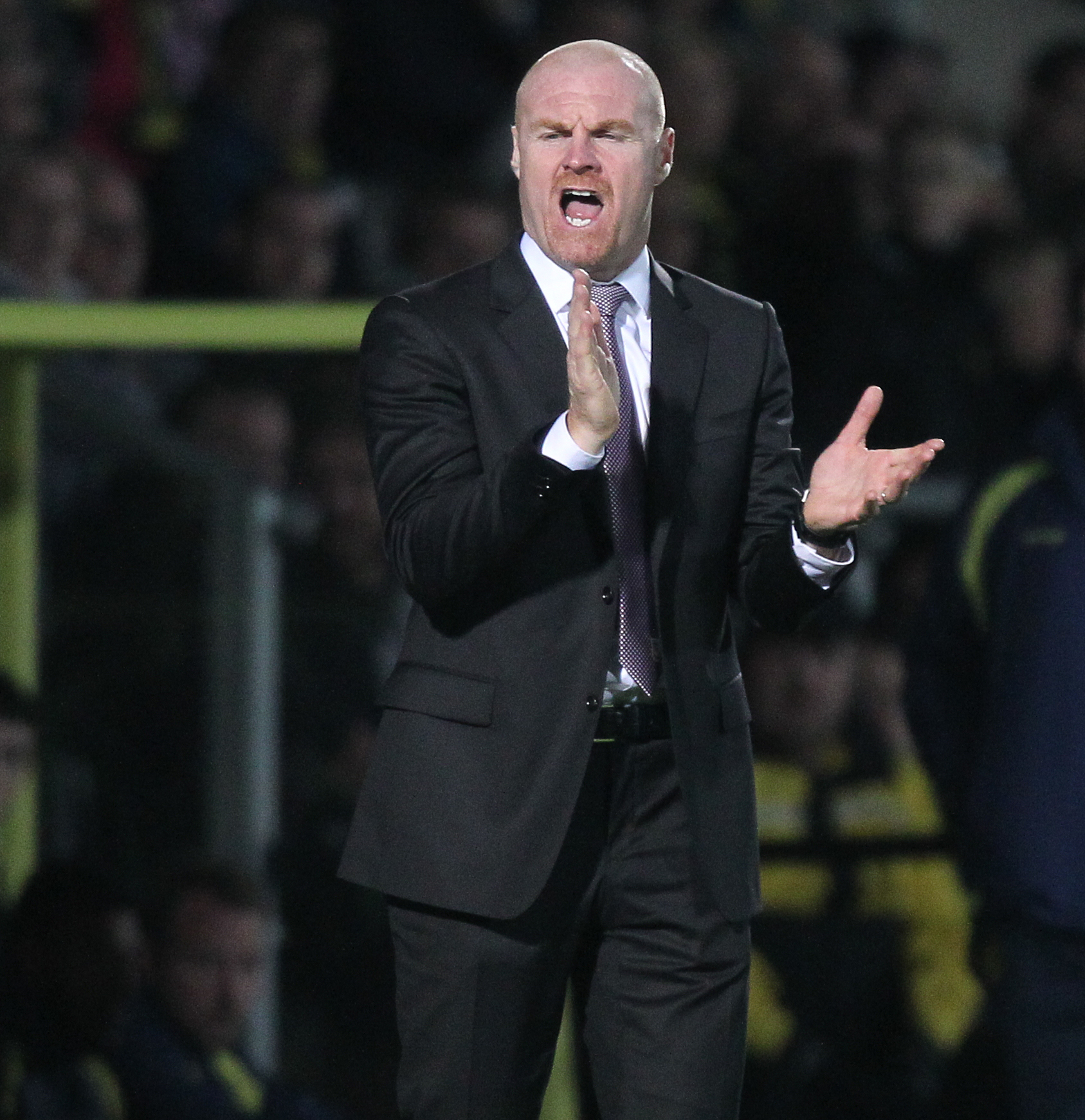 Burnley boss Sean Dyche is keen to see an improvement in defence from his side