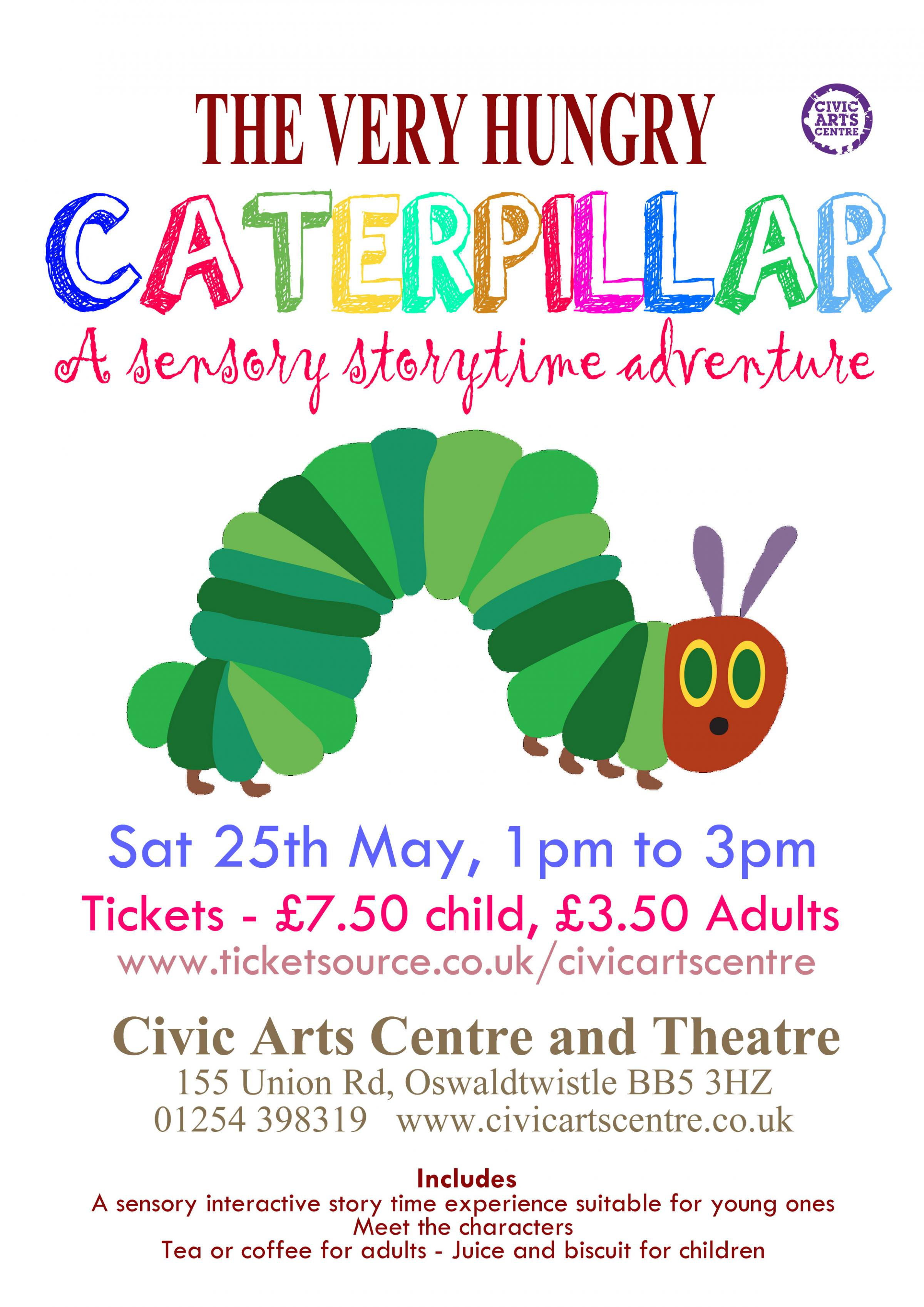The Very Hungry Caterpillar - Sensory Storytime Adventure
