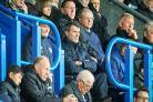 Republic of Ireland assistant manager Roy Keane watched Rovers' draw with Rotherham