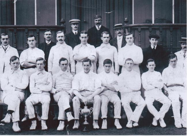 Ramsbottom Cricket Club in 1904