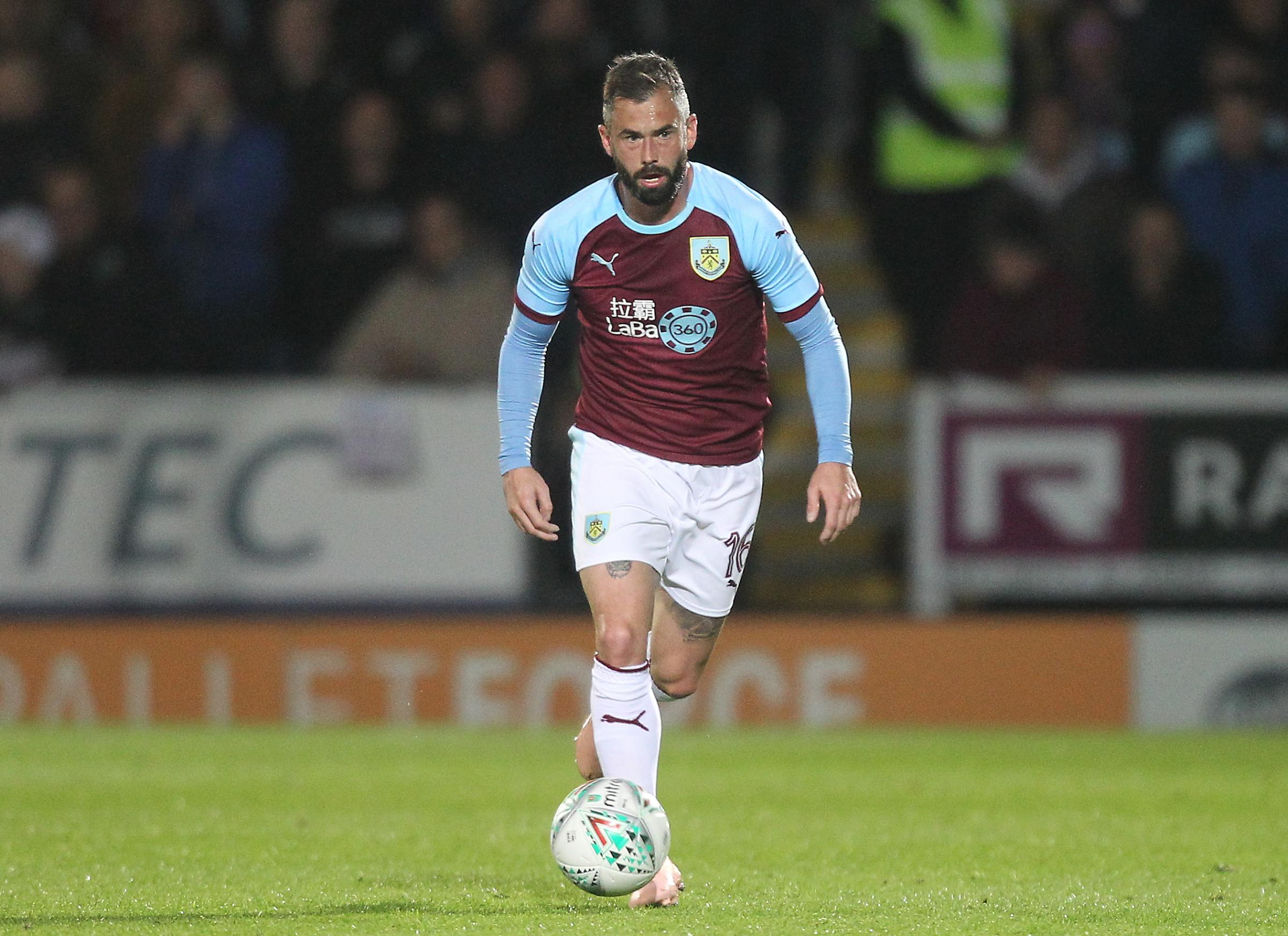 Burnley's Steven Defour..Photographer Mick Walker/CameraSport..The Carabao Cup Round Three   - Burton Albion  v Burnley - Tuesday  25 September 2018 - Pirelli Stadium - Buron On Trent..World Copyright © 2018 CameraSport. All rights reserve