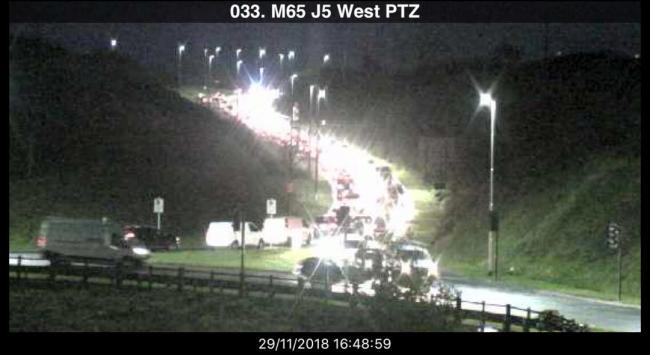 TRAFFIC: Chaos on roads around Blackburn as THREE accidents