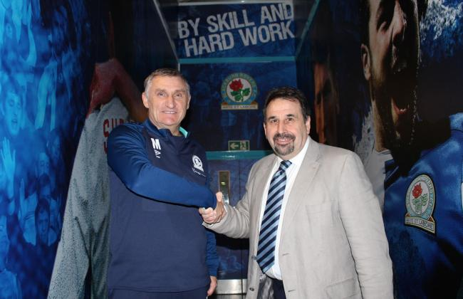 Manager Tony Mowbray and chief executive Steve Waggott