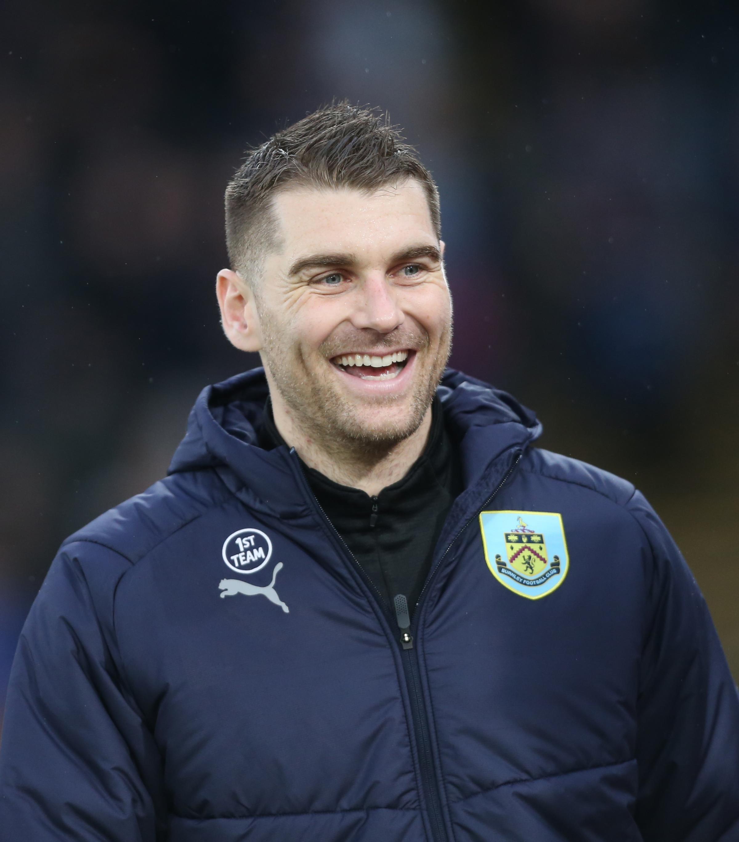 Burnley's Sam Vokes..Photographer Rob Newell/CameraSport..The Premier League - Saturday 1st December 2018 - Crystal Palace v Burnley - Selhurst Park - London..World Copyright © 2018 CameraSport. All rights reserved. 43 Linden Ave. Countest