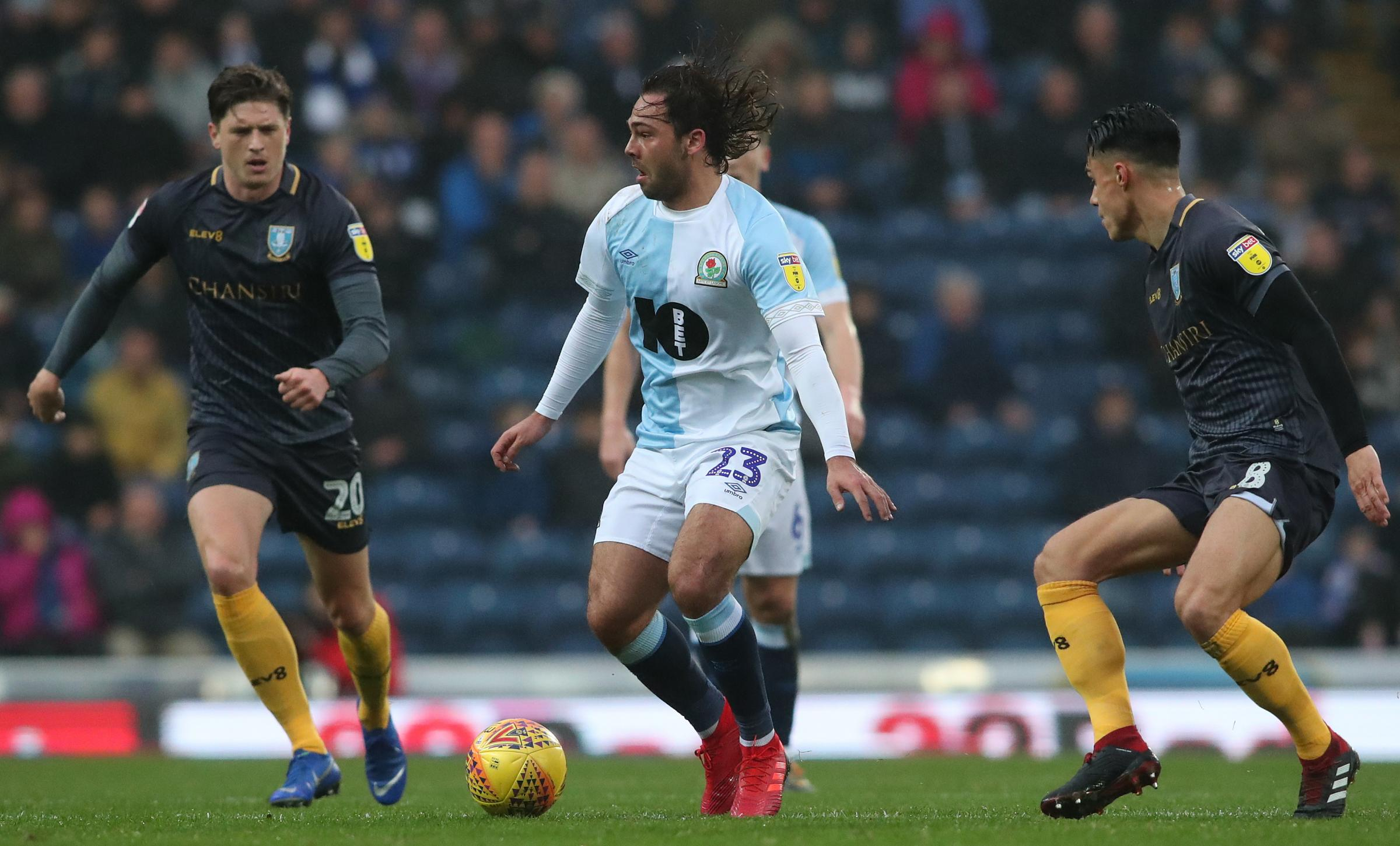 Bradley Dack was back to his best for Rovers against Sheffield Wednesday