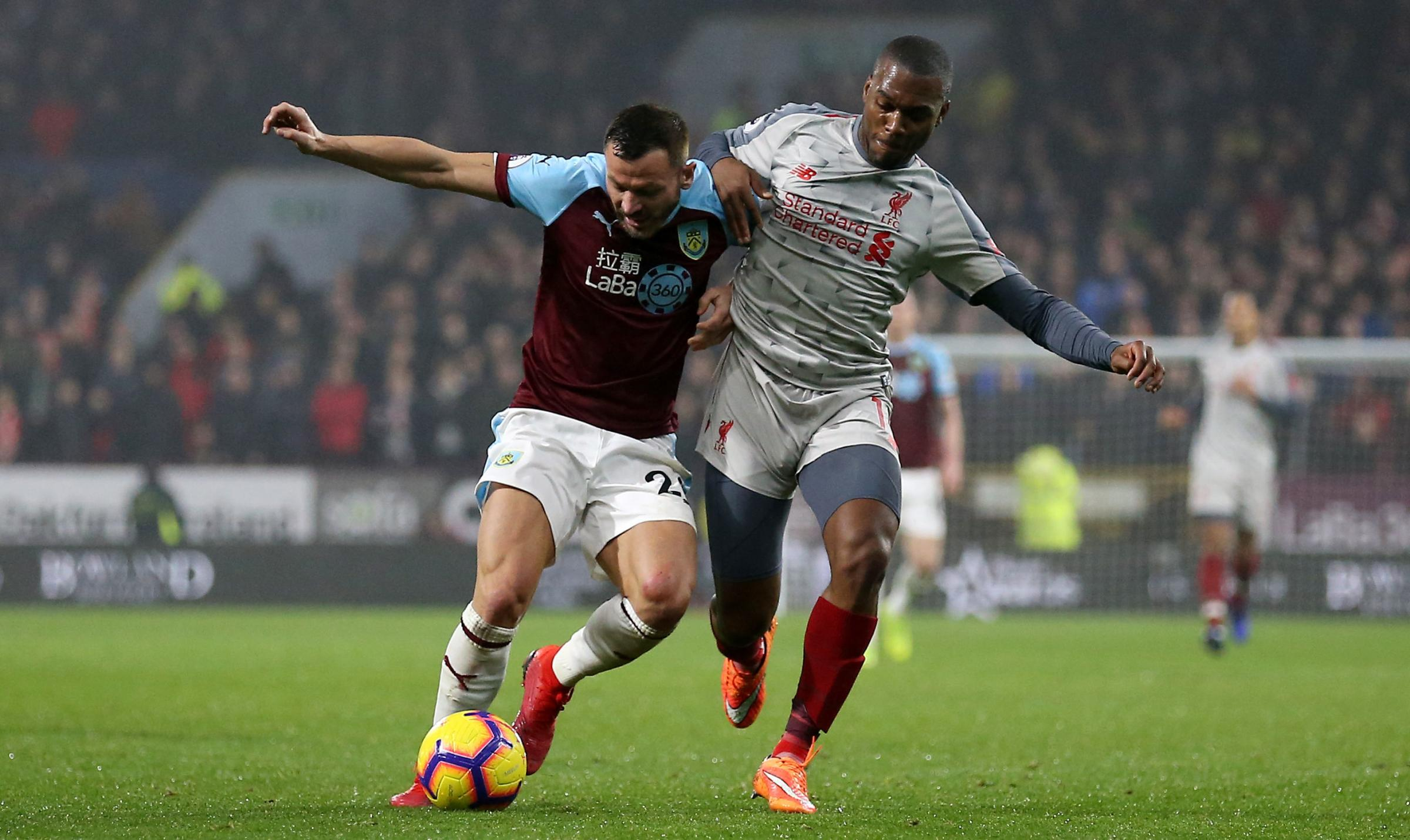 Phil Bardsley earned a Burnley recall for the home game with Liverpool