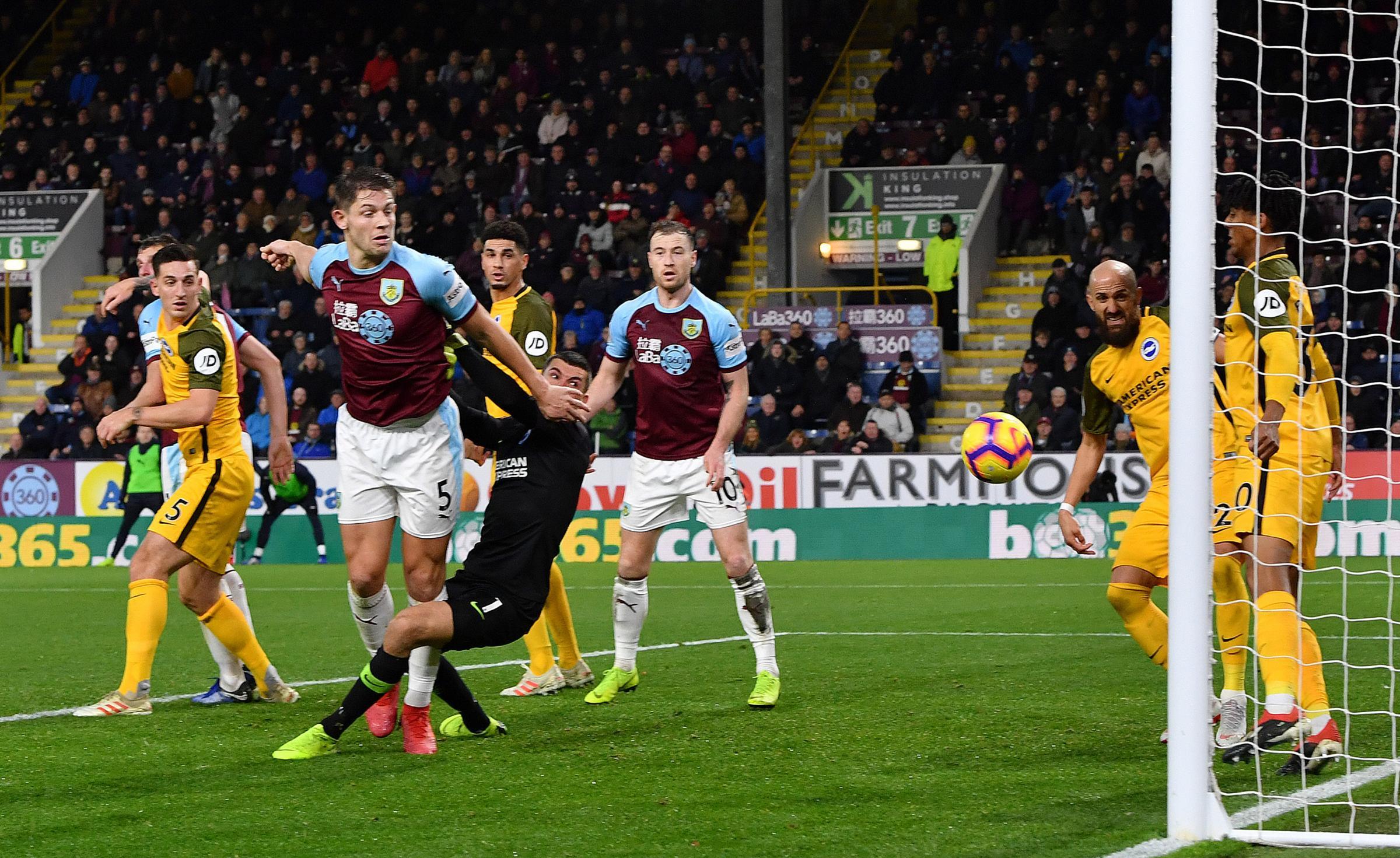 'That's just a start' says Burnley matchwinner James Tarkowski