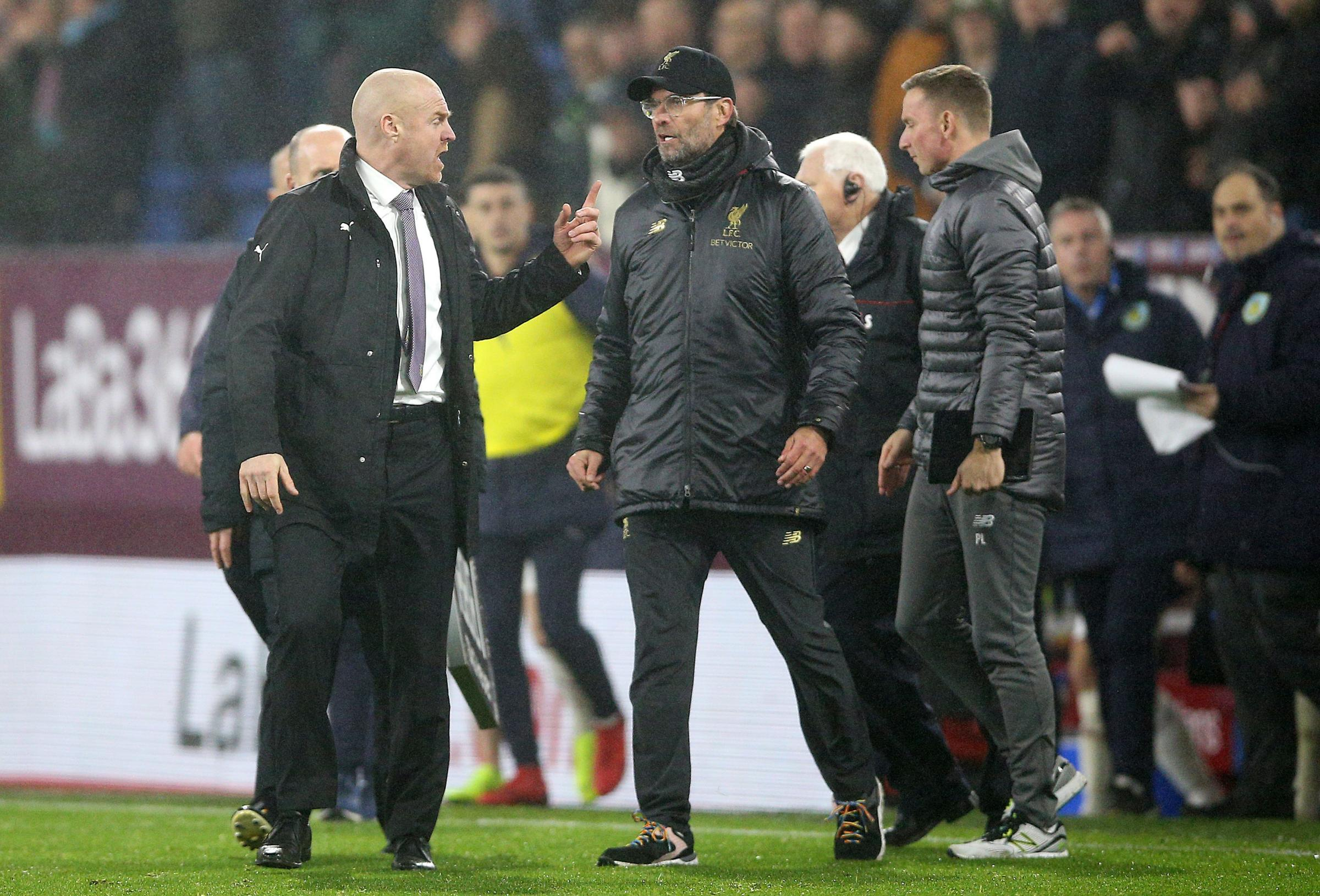 Burnley boss Dyche sets record straight over Sturridge comments