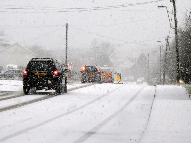 The cold weather to hit East Lancashire