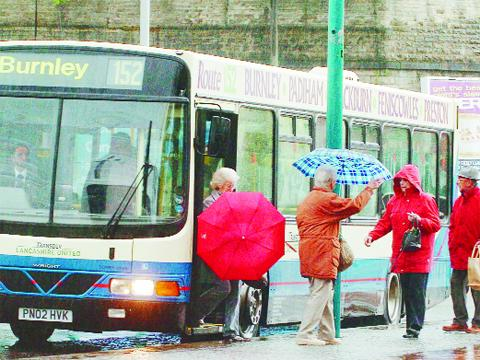 Lancashire County Council ask people on bus services value
