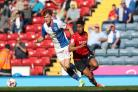 Sam Gallagher scored 12 times for Rovers during a season-long loan spell in 2016/17