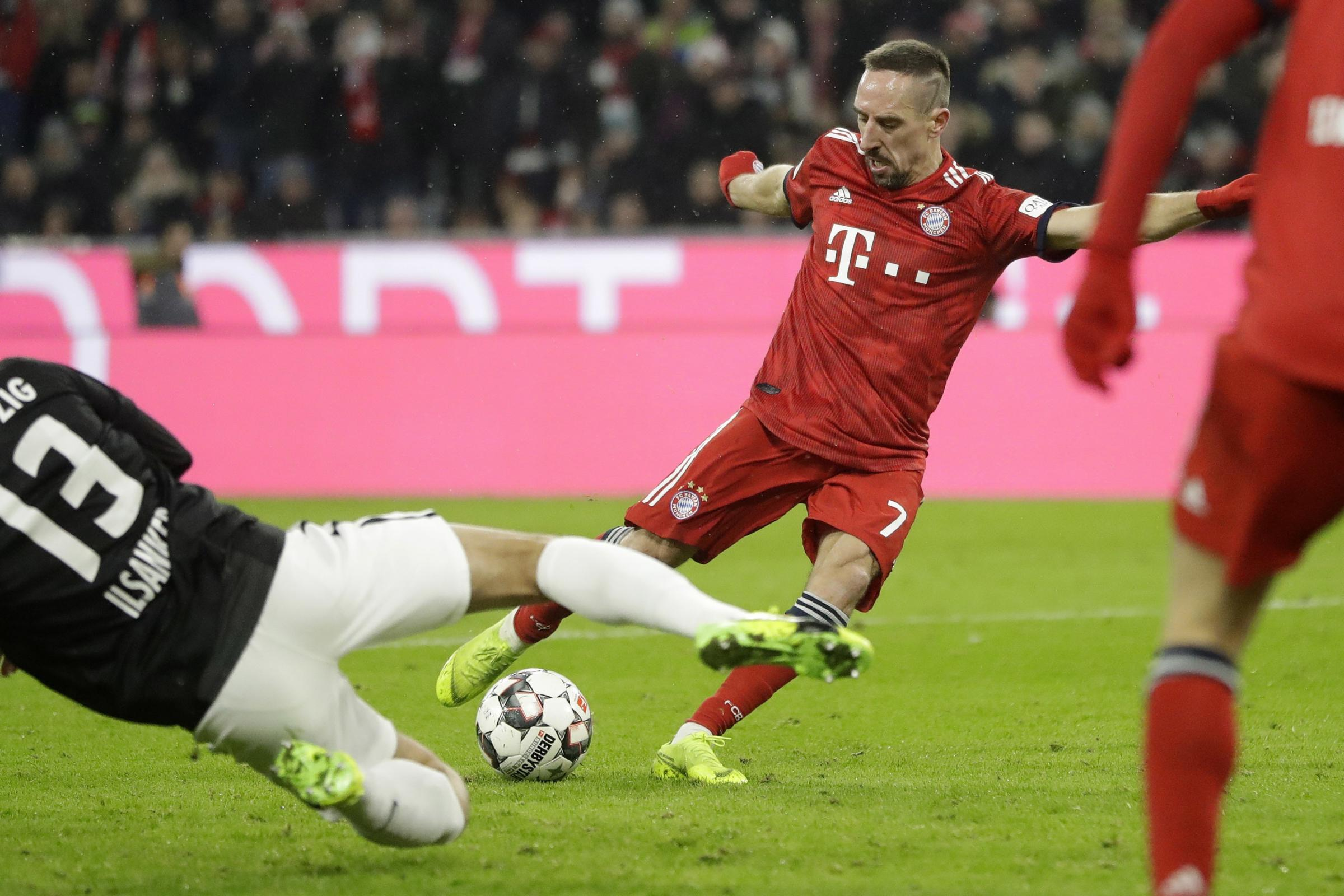 Franck Ribery edges Bayern Munich to victory over RB Leipzig