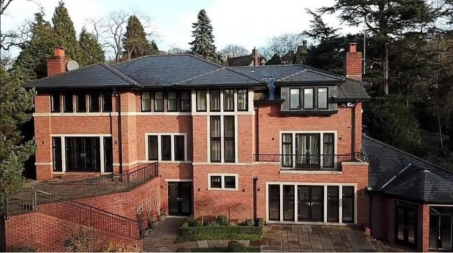 PICTURES: Cristiano Ronaldo's £3.25m Alderley Edge mansion up for sale