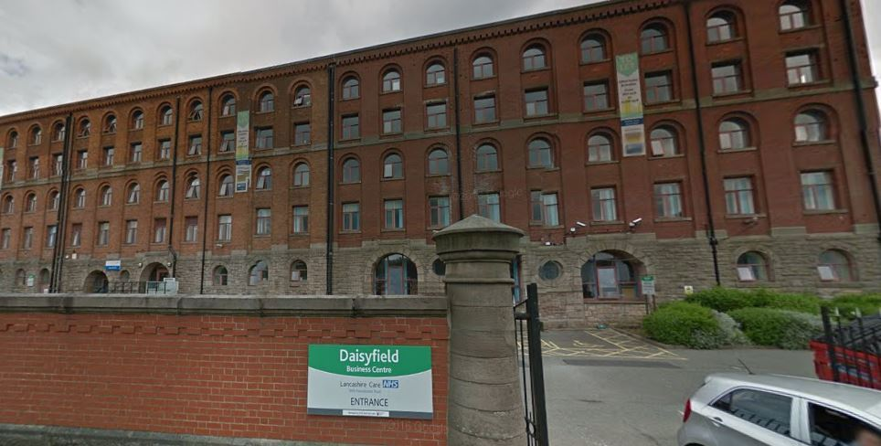 Daisyfield Mill in Blackburn, which has been home to community mental health teams