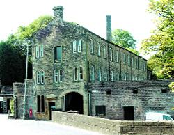 Lancashire Telegraph: building future: Higherford Mill, built in 1824, will be a contender on BBC 2's Restoration show on Friday