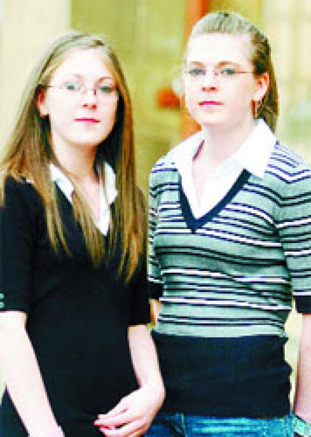 CASE DELAYED: Katie and Ashleigh Lynch have been given an interim ASBO banning them from entering Waterfoot until a hearing on September 13