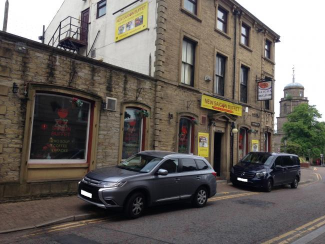 The former New Saigon Buffet in Exchange Street, Blackburn, which is up for sale