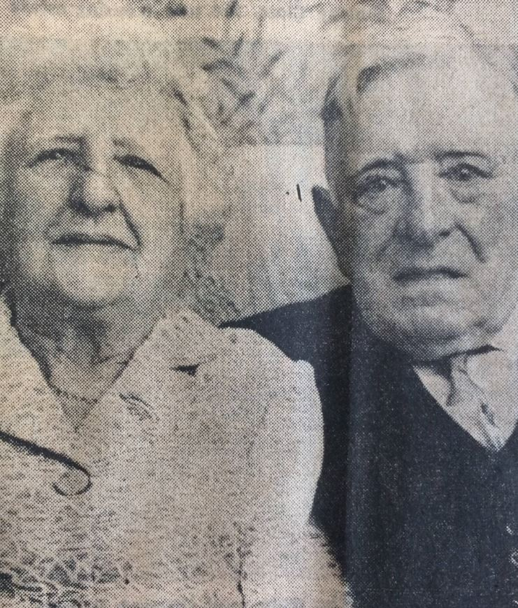 Alice and John Hodson met in 1907, married two years later and in 1969 celebrated their diamond wedding anniversary