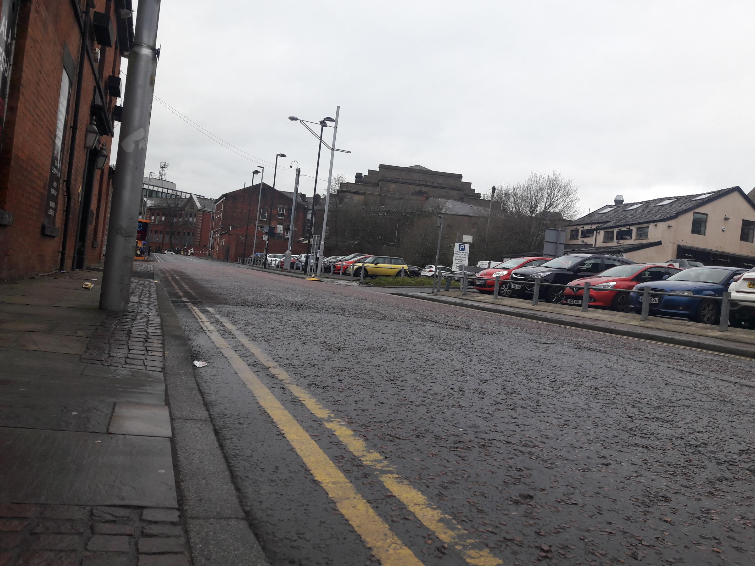 The corner of Barton Street and Cardwell Place, Blackburn
