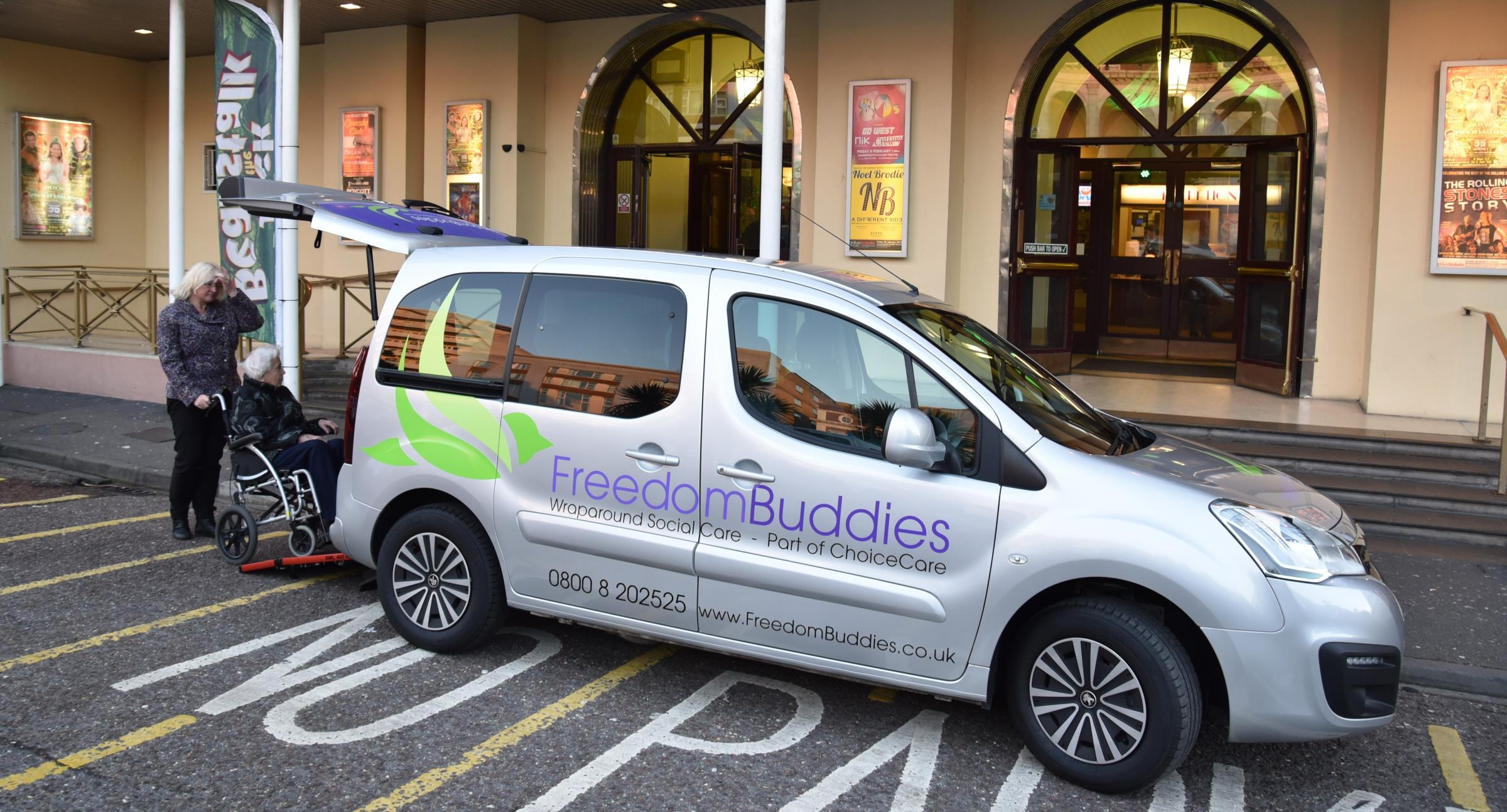 Freedom Buddies, a new care support service, is launching in Blackburn this week