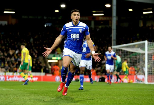 Che Adams has left Birmingham to join Southampton