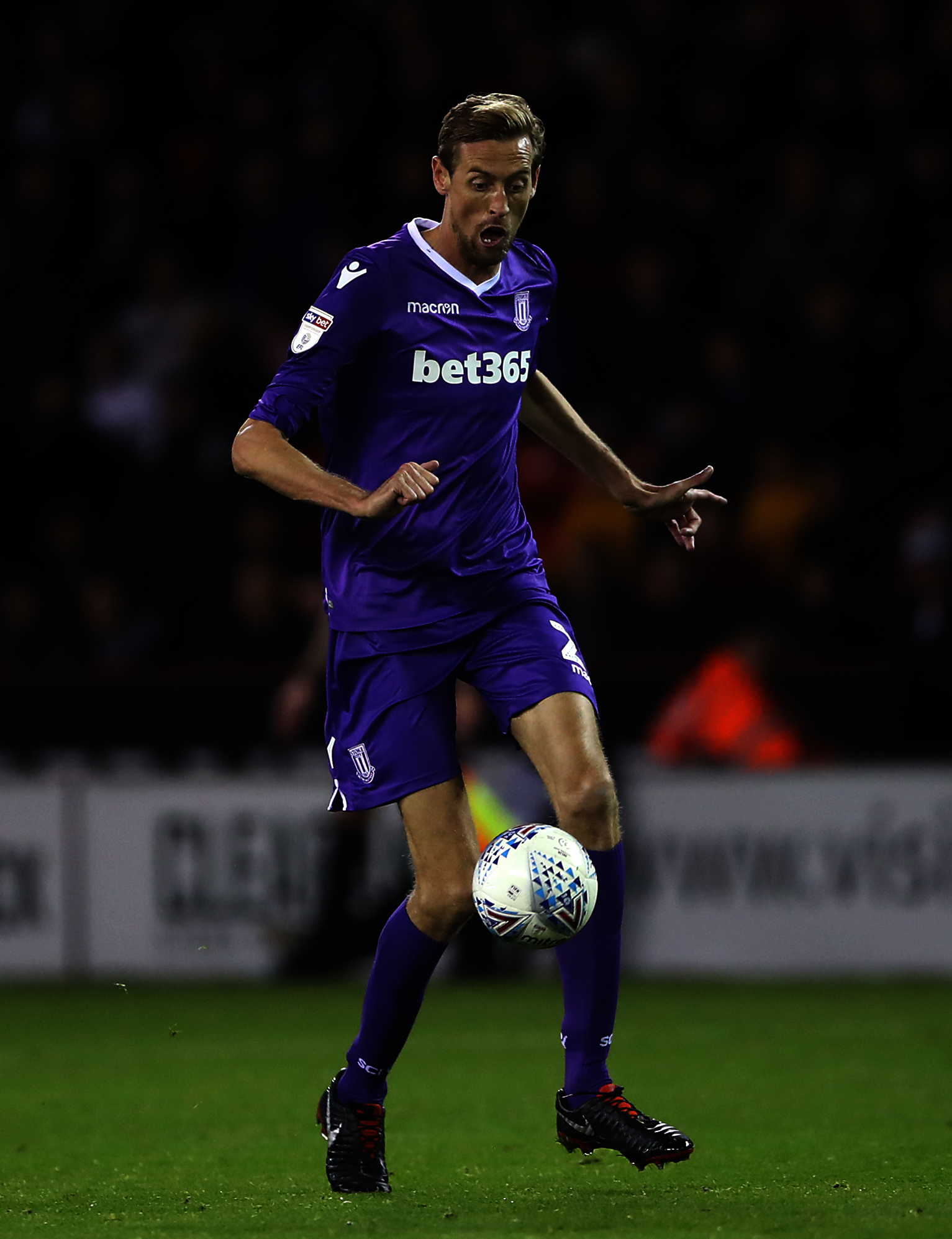 Stoke City's Peter Crouch.