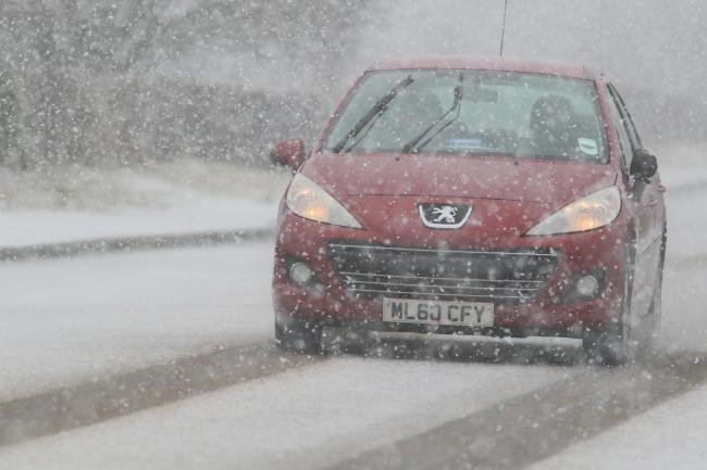 Wintry weather has hit Bolton snow. Picture: Phil Taylor