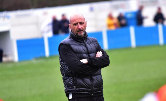 Chris Willcock, manager of Ramsbottom United