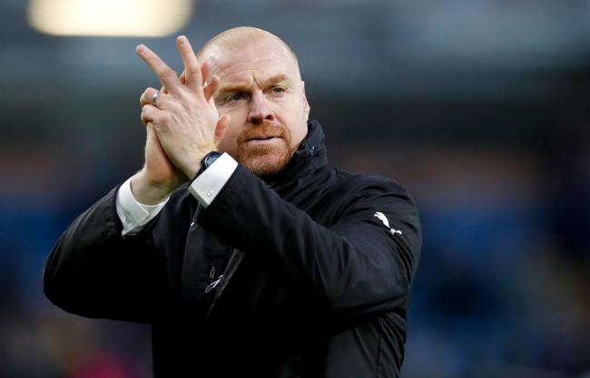 Burnley manager Sean Dyche applauds the fans after the Premier League match at Turf Moor, Burnley. PRESS ASSOCIATION Photo. Picture date: Saturday February 2, 2019. See PA story SOCCER Burnley. Photo credit should read: Martin Rickett/PA Wire. RESTRICTIO