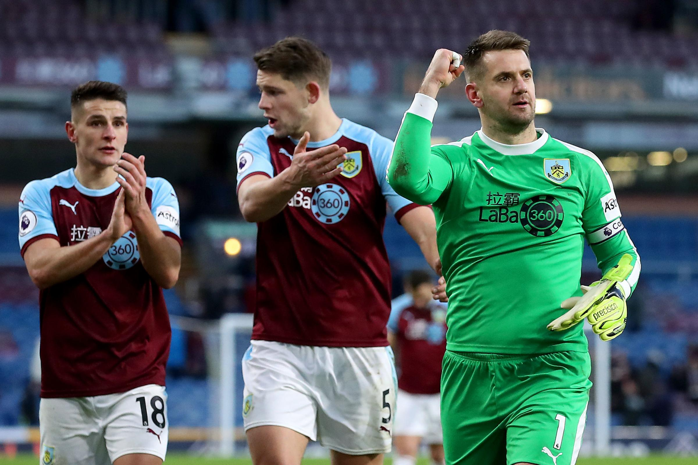 DYCHE DELIGHTED BY ENGLAND RECALLS FOR BURNLEY PAIR