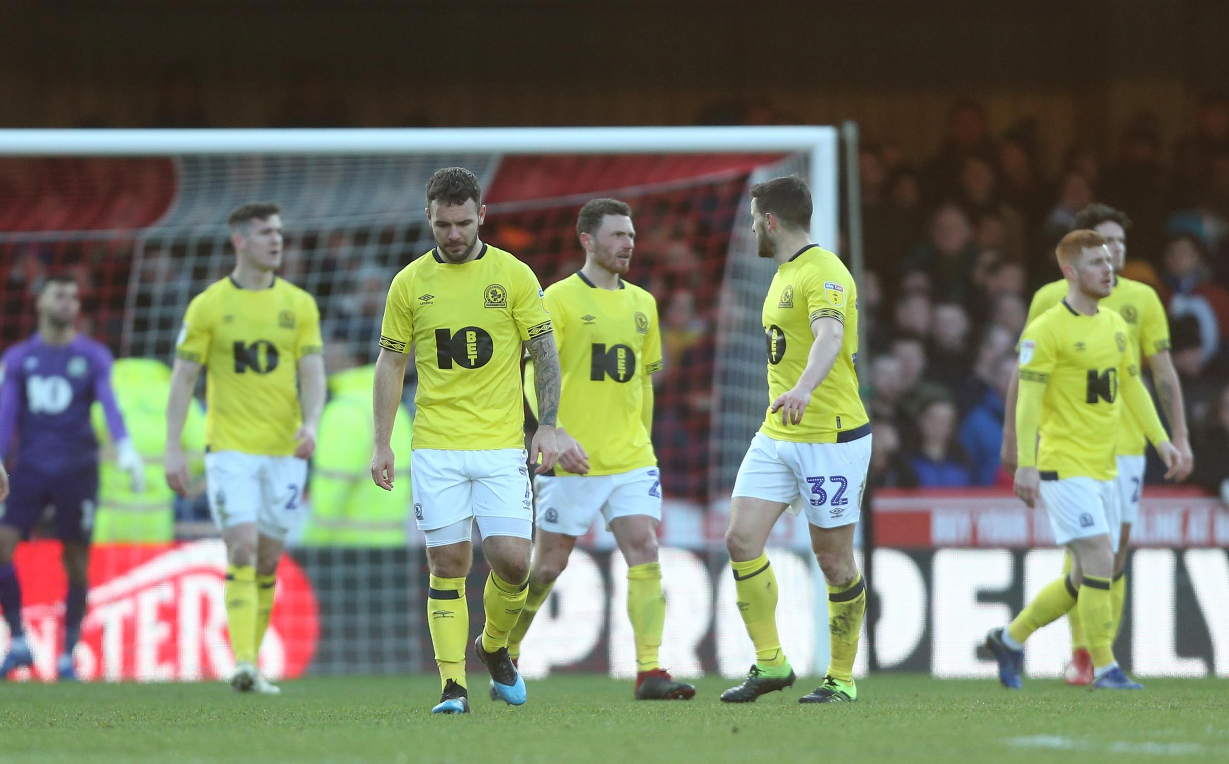 Rovers let a 2-0 lead slip in their heavy defeat at Brentford