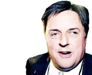 ELECTED: The BNP's Nick Griffin