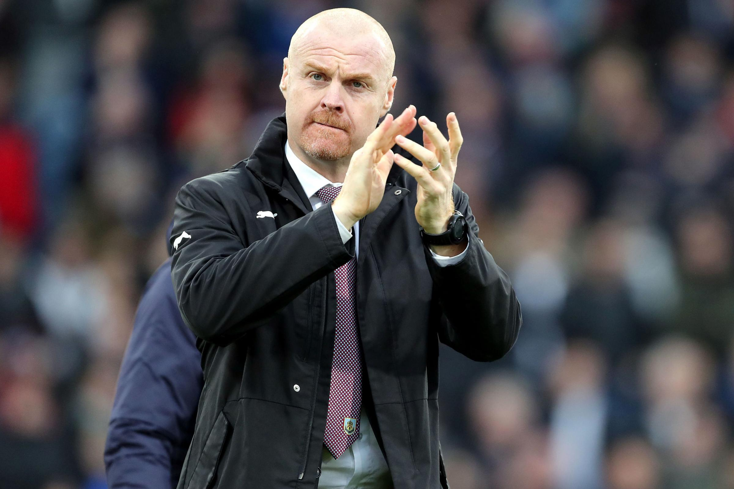 Clarets are showing true colours - Dyche