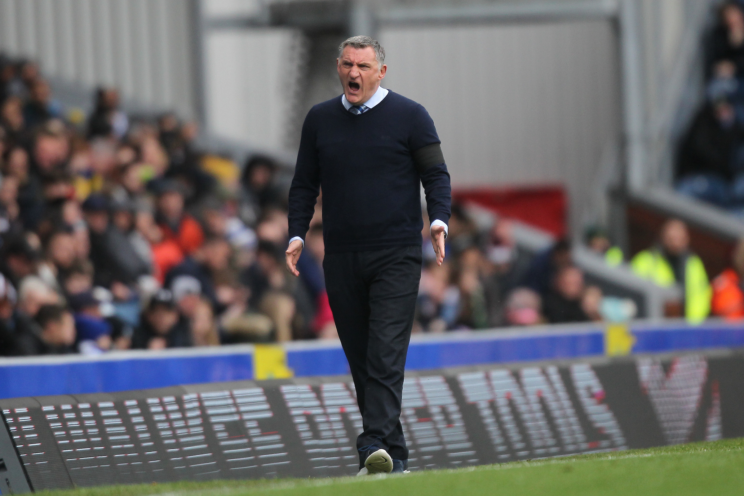 Tony Mowbray was frustrated by the nature of Bristol City's winner against Rovers