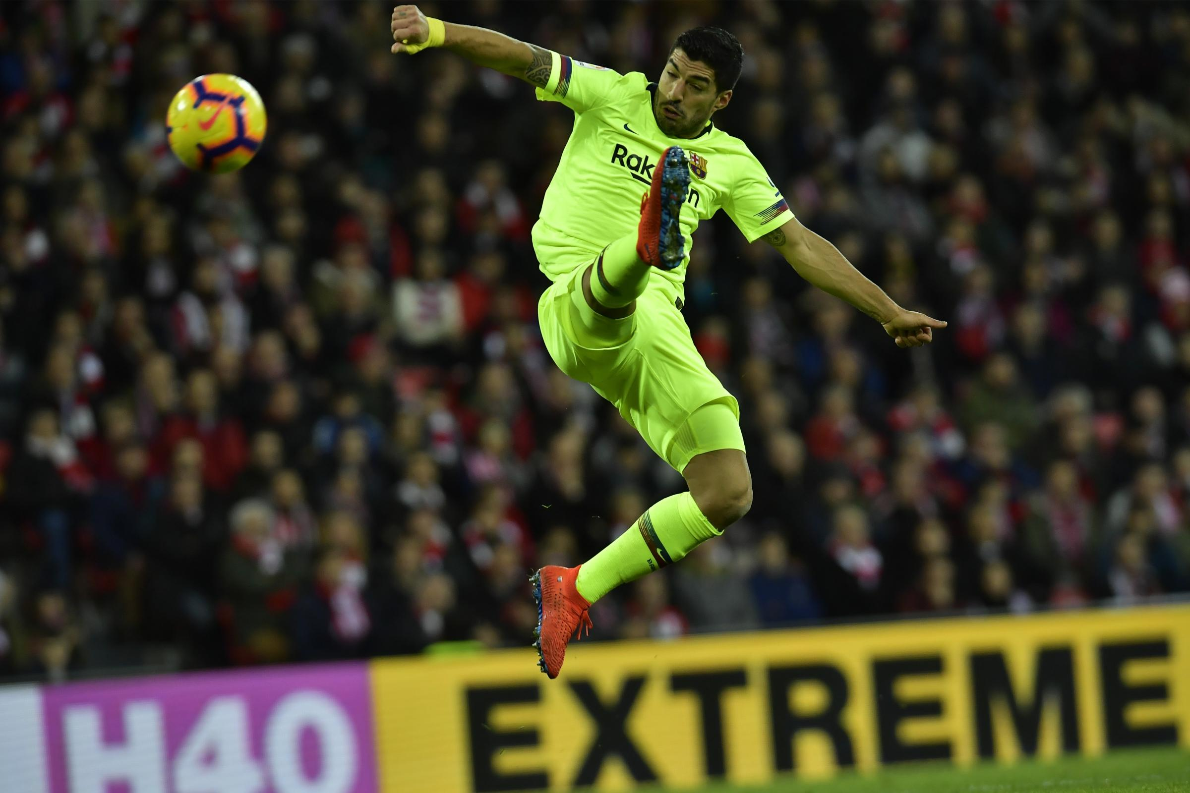 Barcelona's Luis Suarez has hailed keeepr Marc-Andre ter Stegen's performance at Athletic Bilbao