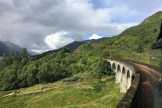 Harry Potter Fans Flocking To Glenfinnan For Glimpse Of Iconic
