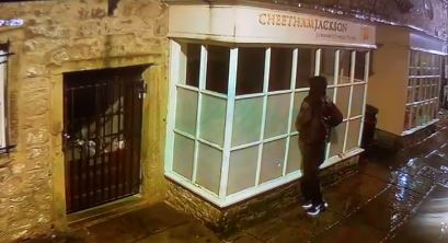 WATCH: Man sought in relation to Clitheroe town centre Break-ins