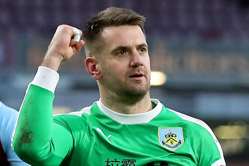 Jack Cork on why Tom Heaton is so important for Burnley