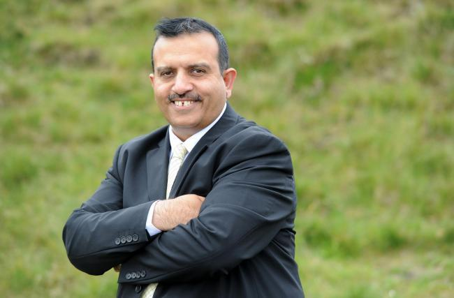 Leader of Pendle Borough Council Cllr Mohammed Iqbal