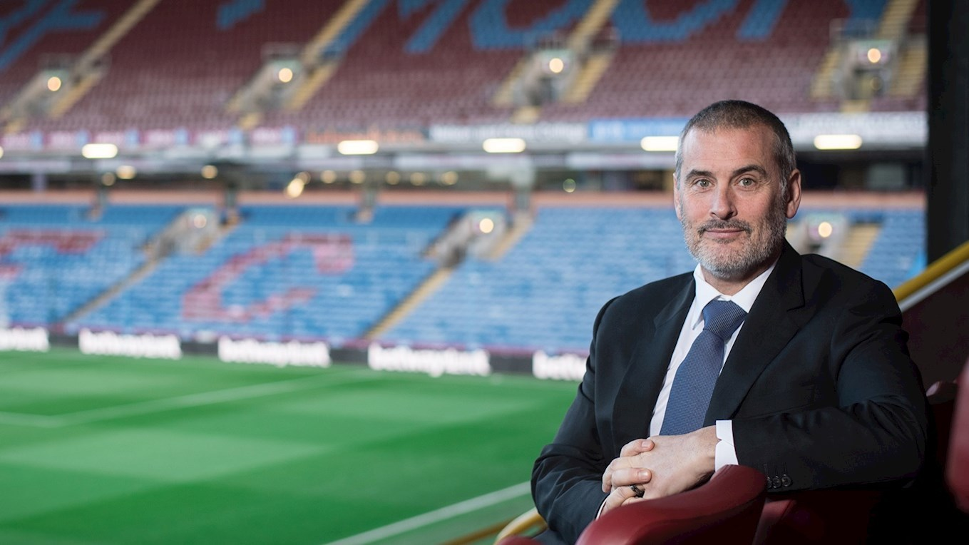 Burnley Techincal Director Mike Rigg Picture: BURNLEY FC