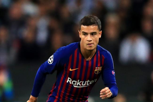 Philippe Coutinho is having a tough time and was whistled at by fans bc6a9d9b63e