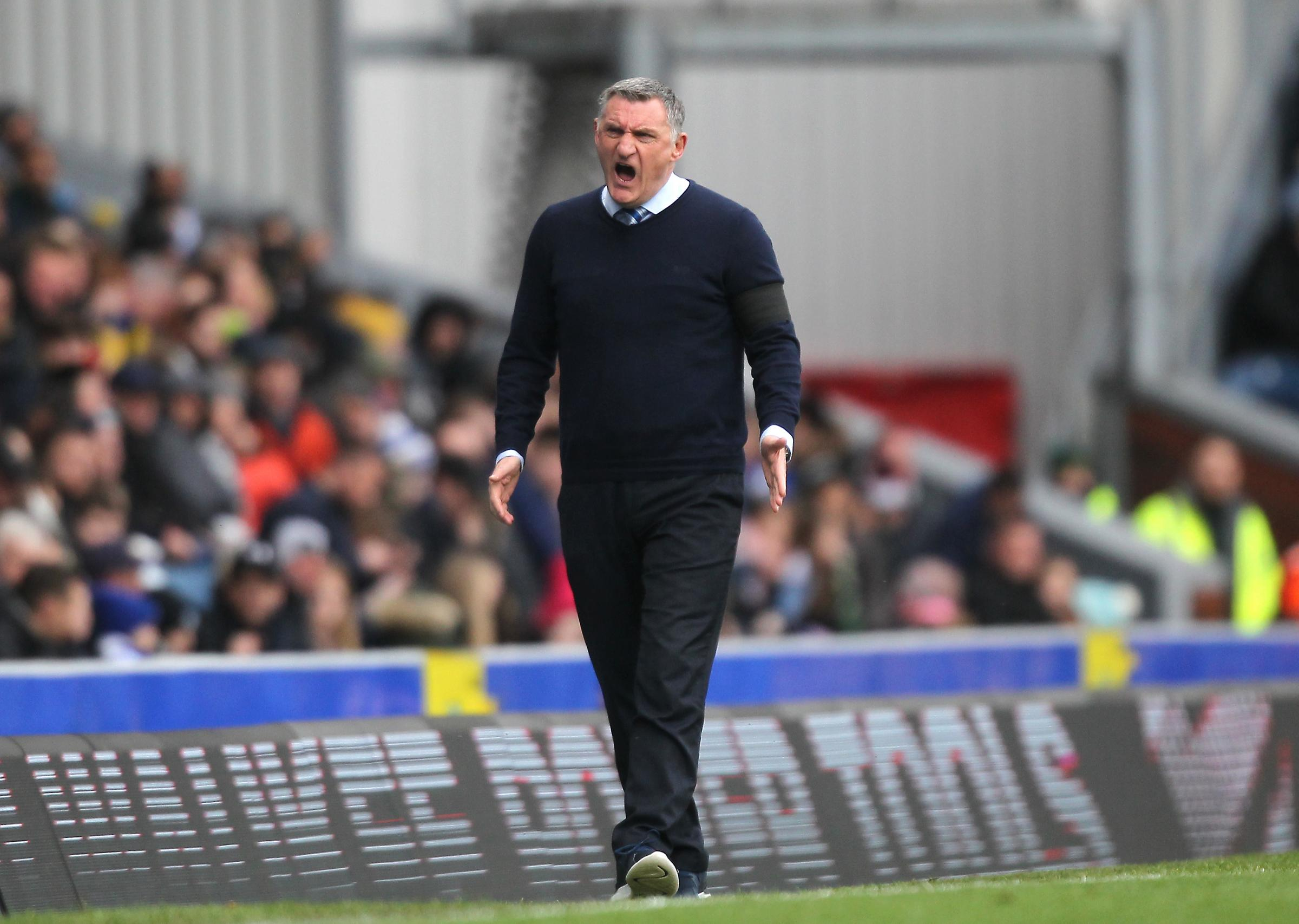 Tony Mowbray has seen his side lose six of their last seven league matches