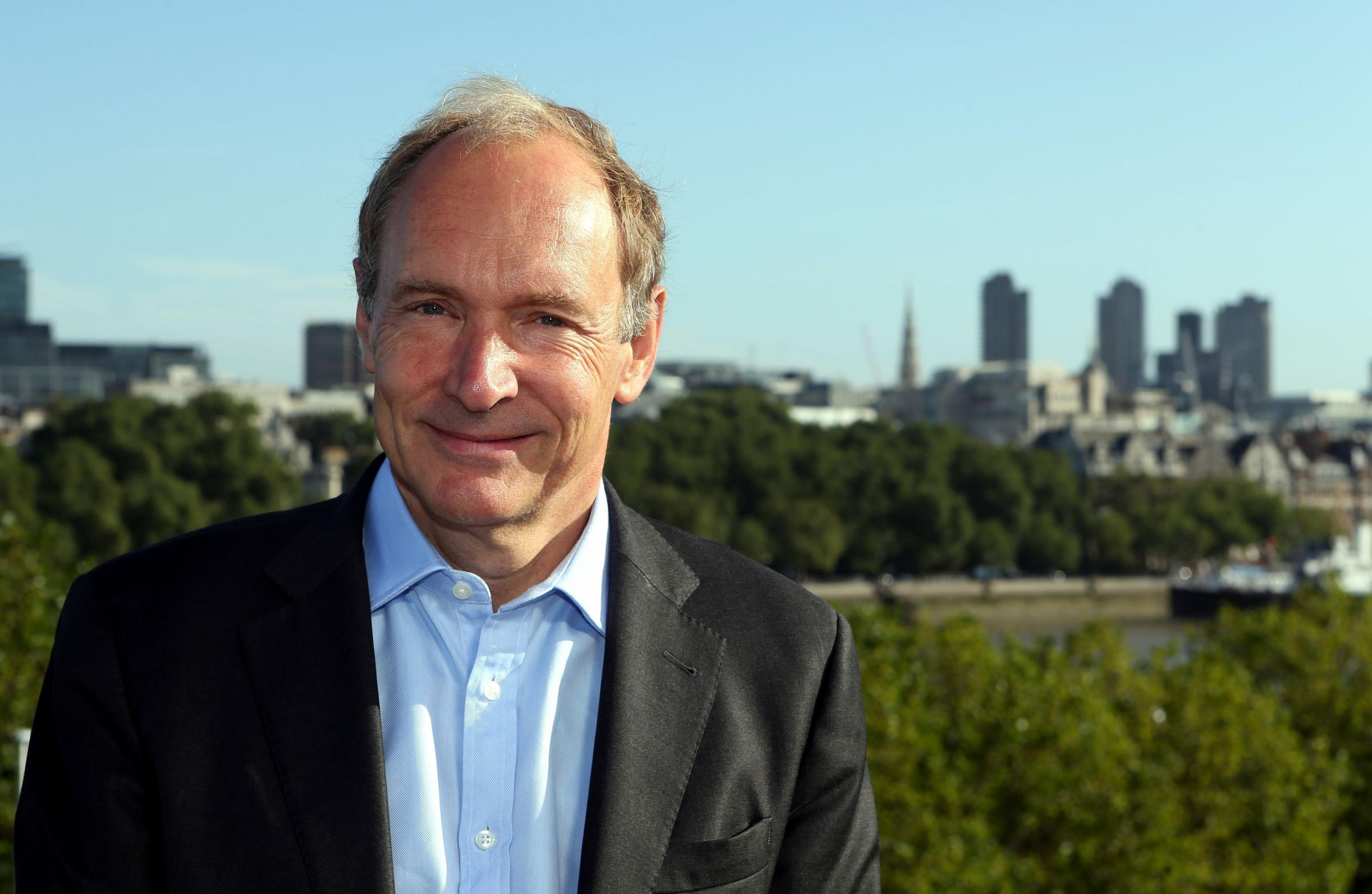The world wide web inventor Sir Tim Berners-Lee